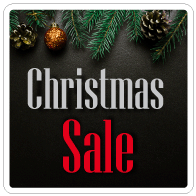 Raamsticker christmas sale VI-022