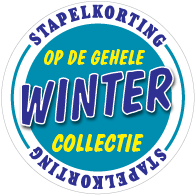 Etalagesticker stapelkorting winter blauw 1 artikel STA-111
