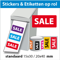 Stickers op rol SR-026