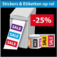 Stickers op rol SR-030