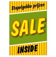 Poster stapelkorting lente groen STA-83