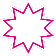 Raamsticker ster ST-004