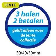 productstickers 3 halen 2 betalen lente STV-040