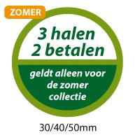 productstickers 3 halen 2 betalen zomer STV-041